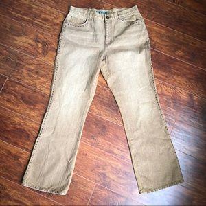 LkNw Lauren Ralph Lauren Brown wash jeans Size 12